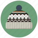 cap, clothes, clothing, hat, style, winter, winter wear icon