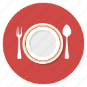 cooking, dinner, eat, food, lunch, plate, restaurant icon