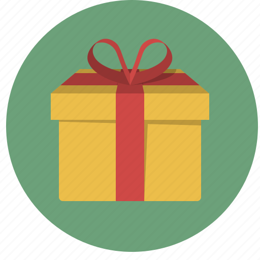 birthday, box, gift, holiday, present, ribbon, xmas icon