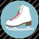 christmas, rink, skate, skates, snow, sport, winter icon