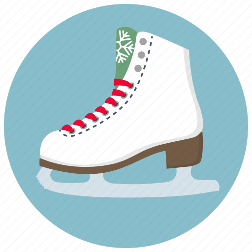 christmas, rink, skate, skates, snow, sport, winter icon