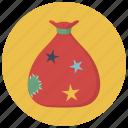 bag, christmas, gift, holiday, present, winter, xmas icon