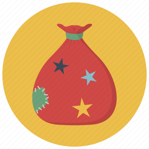 bag, christmas, gift, holiday, present, winter, xmas icon