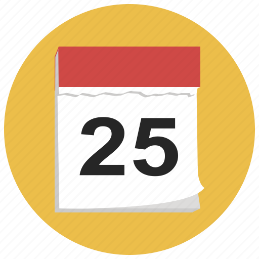 calendar, christmas, date, december, holiday, winter, xmas icon