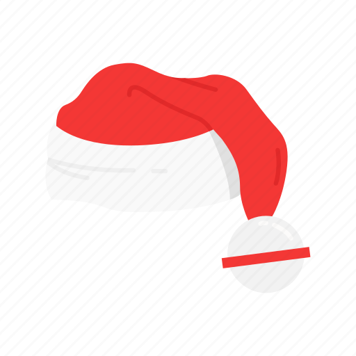 christmas hat, hat, santa claus, santa hat icon