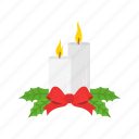 candle, candle dinner, christmas eve, light icon