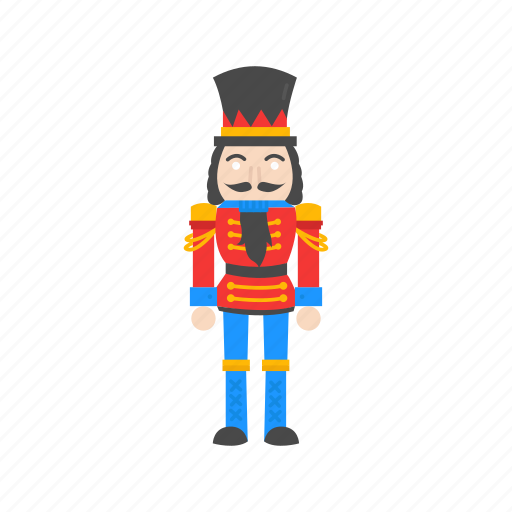 christmas, nutcracker, soldier, toy soldier icon