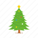 christmas, decoration, pine tree, tree icon