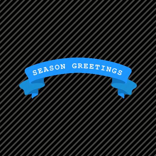banner, christmas, greetings, season greetings icon