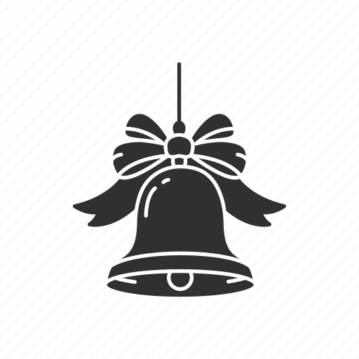 bell, christmas bell, decoration, sleigh bell icon