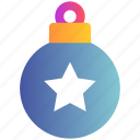 ball, christmas, decoration, easter, holiday, ornaments, stars icon
