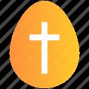 christmas, cross sign, easter, egg, holiday
