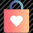 bag, christmas, christmas bag, decoration, gift, heart, love