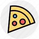 christmas, dinner, easting, junk food, pizza, pizza slice, slice icon