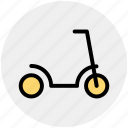 skating, bicycle, travel, scooty, christmas, cycle icon