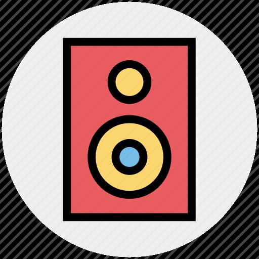 celebration, loudspeaker, music system, speaker, subwoofer, woofer icon