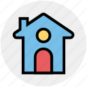 building, apartment, house, home, easter, christmas icon