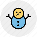 christmas, decoration, easter, snow, snowman, winter icon