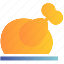 chicken, christmas, eating, food, grilled, party, turkey icon
