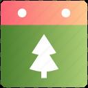 calendar, christmas, christmas tree, date, day, event, tree