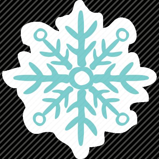 christmas, emoji, emoticons, networking, new year, snow flake, social media icon
