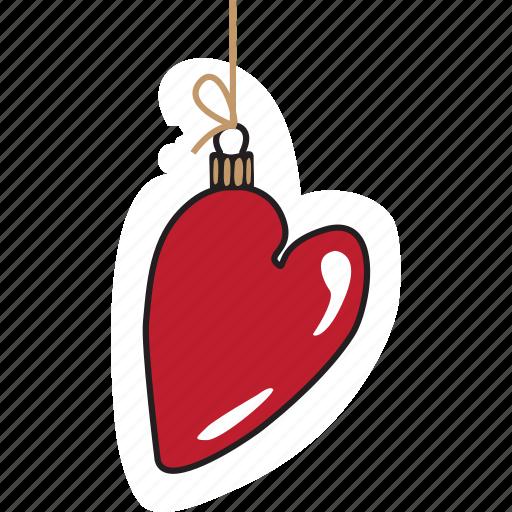 christmas, emoji, emoticons, heart, networking, new year, social media icon