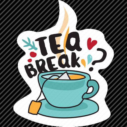 christmas, emoji, emoticons, networking, new year, social media, tea icon
