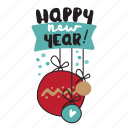 christmas, emoji, emoticons, media, networking, new year, social icon
