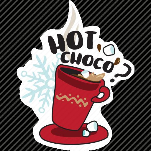 christmas, emoji, emoticons, networking, new year, social media, winter icon