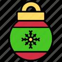 bulb, christmas, cristmast, decoration icon