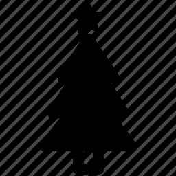 christmas, holiday, pine, star, tree, winter, xmas icon