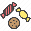 candy, cookie icon
