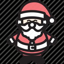 christmas, claus, hat, man, santa, santaclaus icon