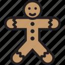 christmas, cookie, gingerbreadmen