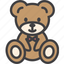 bear, christmas, teddy, toy icon