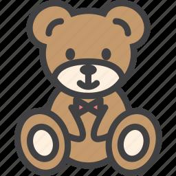 bear, christmas, teddy, toy icon