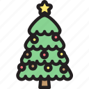 christmas, decoration, holly, ornament, star, tree, xmas icon
