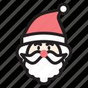 christmas, cute, hat, man, santa, xmas