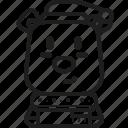animal, scarf, xmas, christmas, bear, polar icon