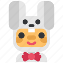 avatar, christmas, costume, holiday, rabbit, user, xmas