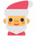 avatar, christmas, man, santa, xmas