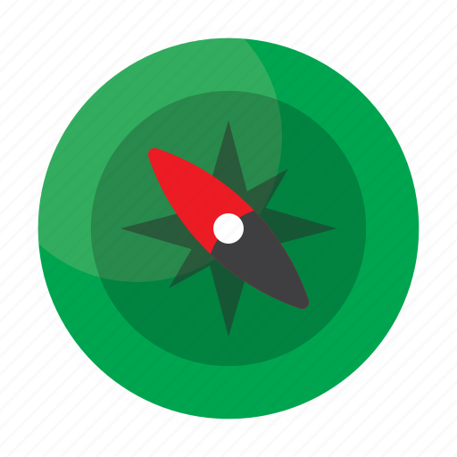 compass, direction, point, travel, xmas icon