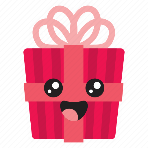 bow, cute, gift, giving, present icon