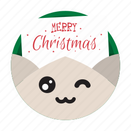 cute, greetings, holiday, letter, mail, xmas icon