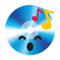 cd, disk, multimedia, music, player icon
