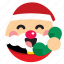 call, contact, phone, saint nick, santa, santa clause icon