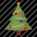ball, cartoon, christmas, decoration, ornament, star, tree icon