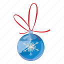 ball, cartoon, christmas, holiday, merry, realistic, xmas icon