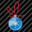 ball, christmas, realistic, merry, cartoon, holiday, xmas