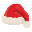 cartoon, christmas, claus, decoration, hat, santa, winter icon